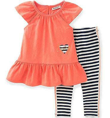 Juicy Couture Toddler/Little Girls 2pc Tunic & Legging Set 2T 3T 4T 4 5 6 6X