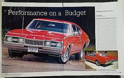 1968 Oldsmobile Ram Rod - 5 Page Article - Free Shipping