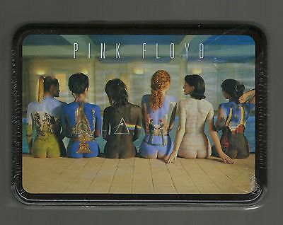 Pink Floyd Playing Cards Sealed in Metal Tin 2 Decks The Wall Naked Women