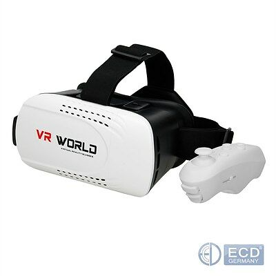 3D VIRTUAL REALITY BRILLE VIDEO FILM FÜR iPhone ANDROID VR BOX GOOGLES CARDBOARD