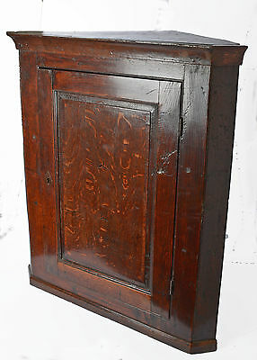 Georgian ?? 18th - 19th Century (I believe) Solid wood Corner cabinet