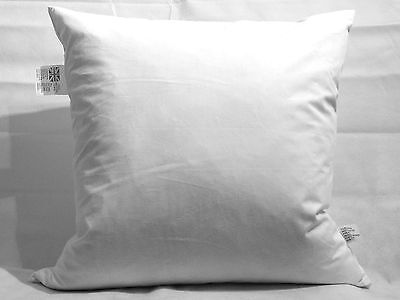 British Handmade Duck Feather Cushion Pad Inner Pad Filler Extra Filled