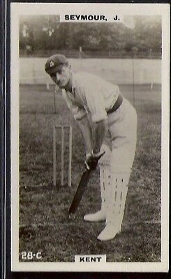 PHILLIPS-CRICKET ERS BROWN BACK F192-#028c- KENT - SEYMOUR