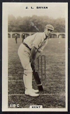 PHILLIPS-CRICKET ERS BROWN BACK F192-#118c- KENT - BRYAN