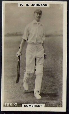 PHILLIPS-CRICKET ERS BROWN BACK F192-#132c- SOMERSET - JOHNSON
