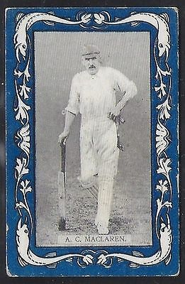Wills-Australian/english Cricket-Blue Border Capstan-#18- Maclaren