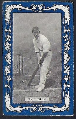 Wills-Australian/english Cricket-Blue Border Capstan-#24- Tyldesley