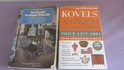 2 Kovel's Antiques & Collectibles Price Guides