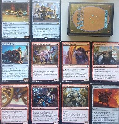 Instant GREMLIN ARTIFACT & VEHICLE deck! Ready To Play 60 Cards Mtg Red Kaladesh