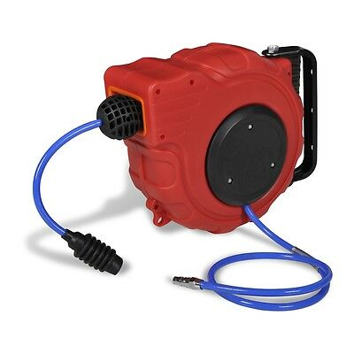 New Air Hose Reel 20M Retractable Auto Rewind Compressor Industrial Grade Tool