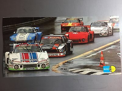 1981 Porsche 935 Coupe Race Car Picture / Poster / Print RARE!! Awesome L@@K