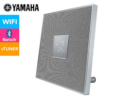 Yamaha MusicCast Restio ISX-80 Bluetooth Speaker & Remote - White