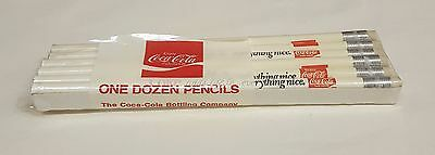 One Dozen Vintage Coca-Cola Bottling Company Unused Pencils