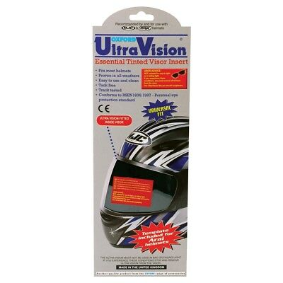 Oxford Motorbike Motorcycle Insert Visor Ultra Vision Black