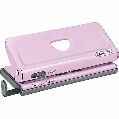 Rapesco Adjustable 6-Hole Organizer/ Diary Punch [Pink] (rpc-1322) (rpc1322)
