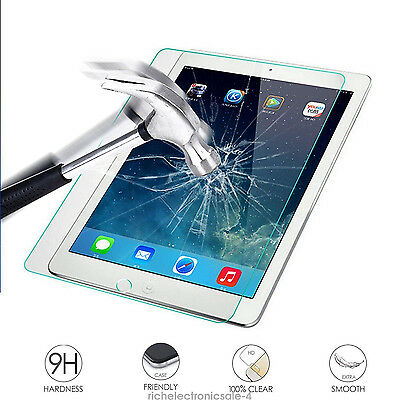 Premium Real Tempered Glass Screen Film Guard Protector d2 for iPad Pro 12.9""