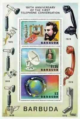 Timbres Communications Barbuda BF20 ** lot 19428