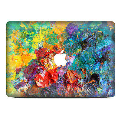 Oil painting Top Cover Sticker Laptop MAC Decal for  Macbook Pro Air Retina