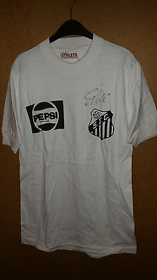 FC Santos Brazil match worn player shirt Pele / Athleta