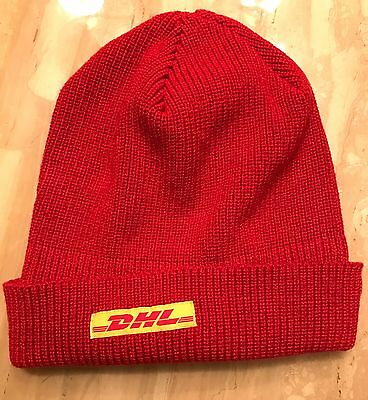 DHL Vintage acrylic Official Delivery hat 2005
