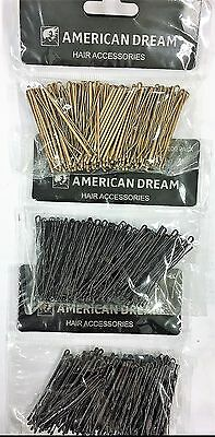 "American Dream Hair Accessories 2"" waved grips 100 pack"