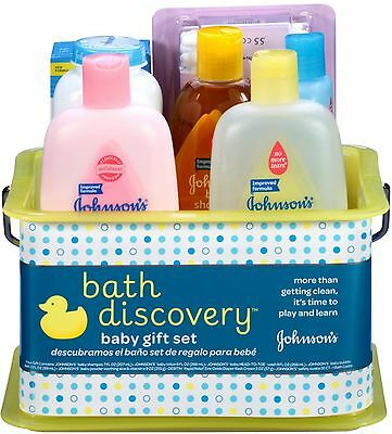 JOHNSON'S Bath Discovery Baby Gift Set 1 ea (Pack of 6)