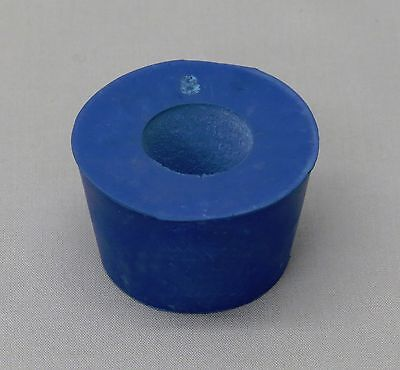 Rubber Stopper 1 Hole Size # 8 Drilled to Accept Buchner Funnel
