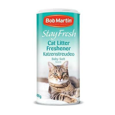 Cat Litter Freshener Baby Soft Scent from Bob Martin 400g