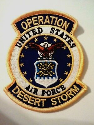 United States Air Force Operation Desert Storm Patch