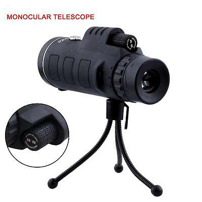 1x Super High Power 40X60 Portable HD OPTICS Night Vision Monocular Telescope SB