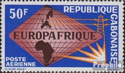 Gabon 227 (complete.issue.) unmounted mint / never hinged 1965 Europafrique