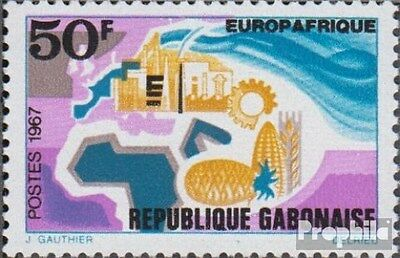 Gabon 282 (complete.issue.) unmounted mint / never hinged 1967 Europafrique