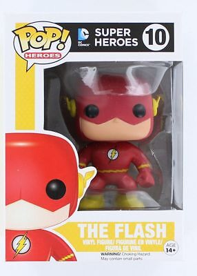 Funko Pop Heroes DC Comics: The Flash Vinyl Action Figure Collectible Toy, 3.75""