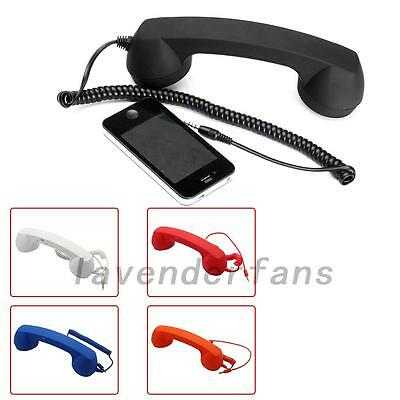 Cell Phone Handset Receiver Retro Classic Telephone For Android IPhone