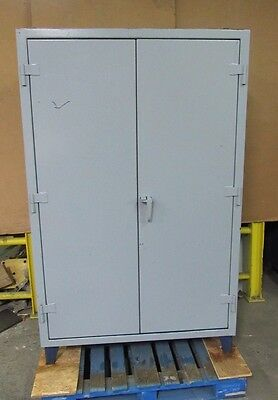 "Strong Hold 48""x24""x72"" Stronghold Heavy Duty Steel Storage Cabinet 4 Shelf"