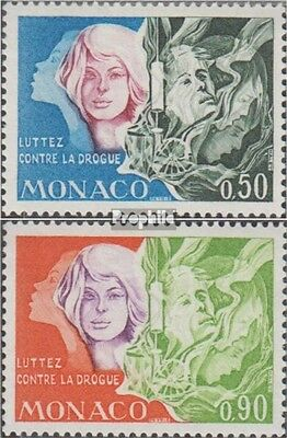 Monaco 1087-1088 (complete.issue.) unmounted mint / never hinged 1973 Drugs