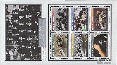 New Zealand block154 (complete.issue.) unmounted mint / never hinged 2003 rugby