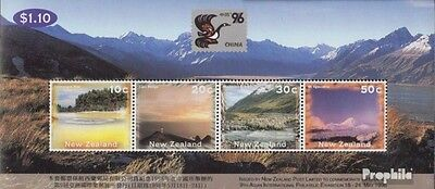 New Zealand block54 (complete.issue.) unmounted mint / never hinged 1996 Landsca