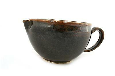 korium Shaving Scuttle Brown 'n Black - handmade ceramics