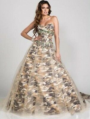 Camouflage Wedding Dresses.2018 Camo Wedding Dress Formal Ball Gown Camouflage Beading Bridal Gowns Custom