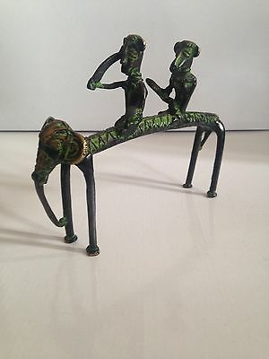 Antique African Tribal Bronze Statue