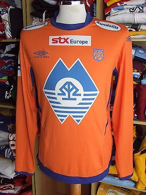 Matchworn Shirt Aalesunds FK 2009 (XL)#8 Home Umbro Norway Jersey Trikot Maglia