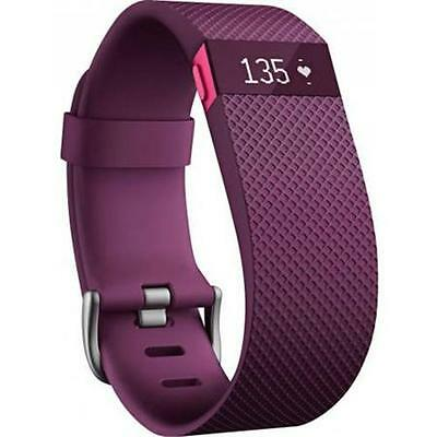 Fitbit FB405PMSCAN Charge HR Wristband Small - Plum