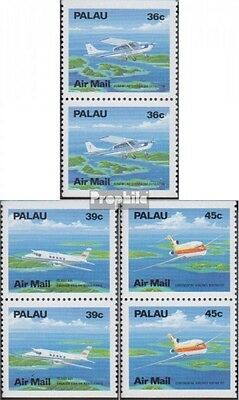 Palau-Islands 278Do/You-280Do/You Couples (complete.issue.) unmounted mint / nev