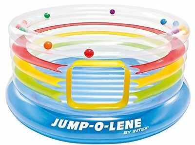 Jump-O-Lene Transparent Ring Bouncer,Inflatable Kids Bouncy Castle Home + Garden