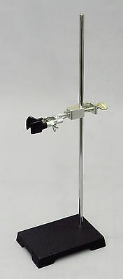 Lab Stand Kit - 8x5 Inch Support & Buret / Test Tube Clamp