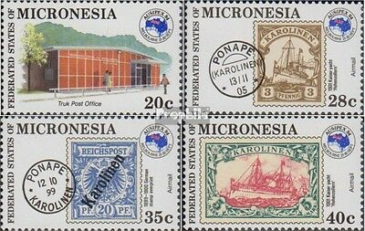 Mikronesien 24-27 (complete.issue.) unmounted mint / never hinged 1984 Stamp Exh