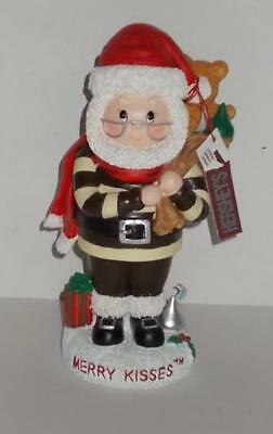 2002 Hershey's Collectible Figure Man Merry Kisses Santa Christmas Toy Bag