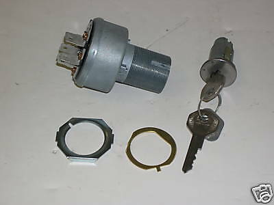 1966-67 Gto/lemans/tempest Ignition Switch W/cyl & Keys