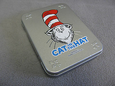 Dr.Seuss Cat in the Hat Playing Cards in Tin Universals Islands of Adventure